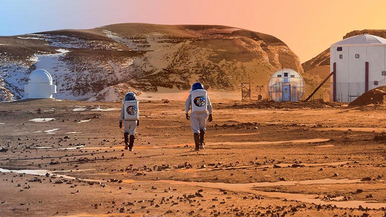 Ultime notizie da Marte. Gli esperimenti di Colonizzazione del pianeta rosso.