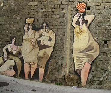 Turismo Sostenibile in Sardegna. Murales di Orgosolo