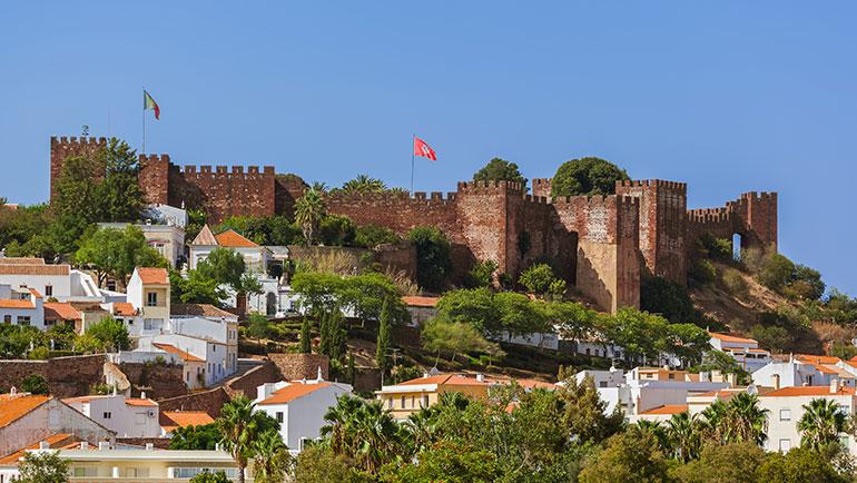 portogallo turismo: castello di Silves