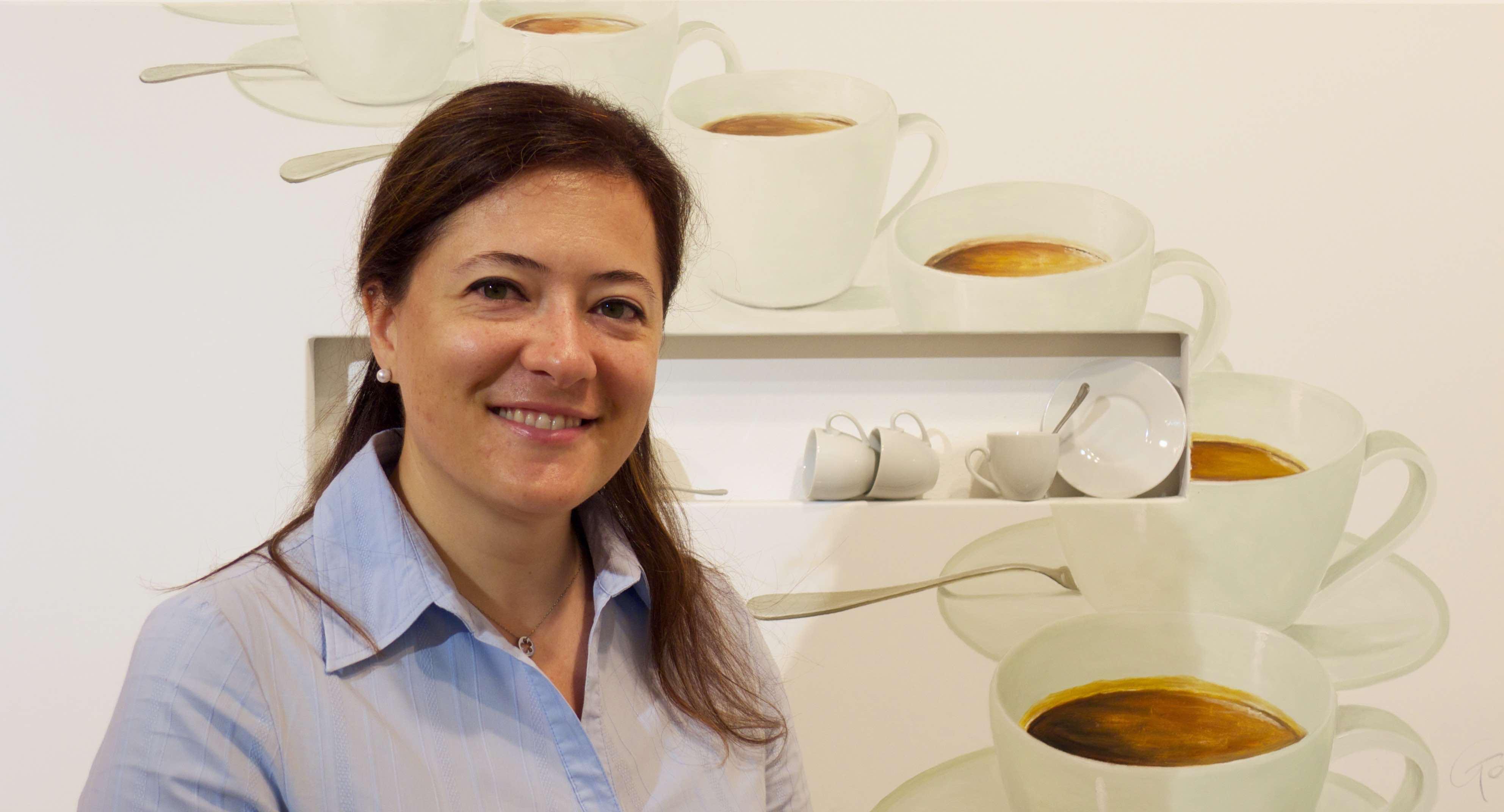 Francesca Lovato, fondatrice di Oltrecafè ci racconta come ricicla i fondi di caffè per creare eco pellet