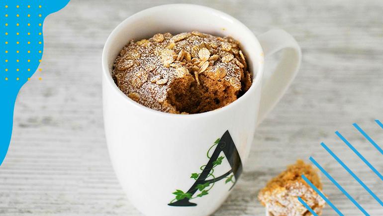 Mug Cake: la torta in tazza al microonde facile e veloce da preparare