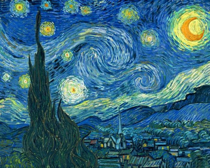 Astrofotografia: la notte stellata di Van Gogh