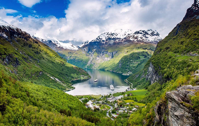 Il fiordo norvegese di Geiranger è Patrimonio dell'Umanità