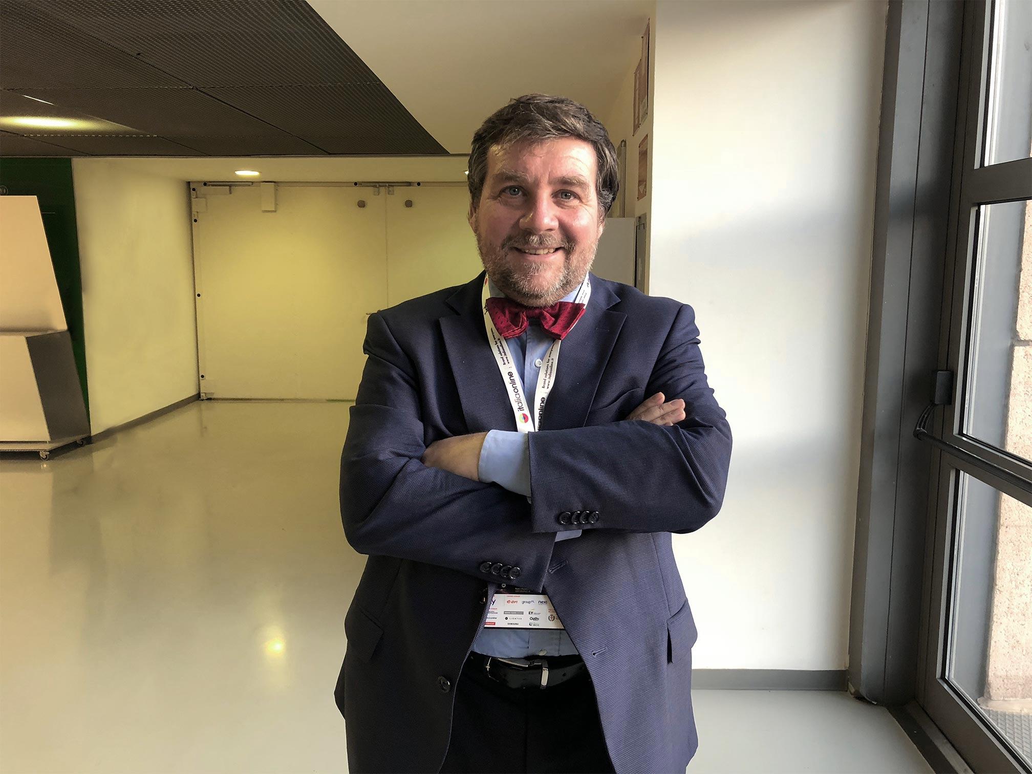 """Luca Mercalli, meteorologo, divulgatore scientifico e climatologo, volto noto agli italiani per la sua partecipazione alla trasmissione televisiva Rai """"Che tempo che fa""""'"""