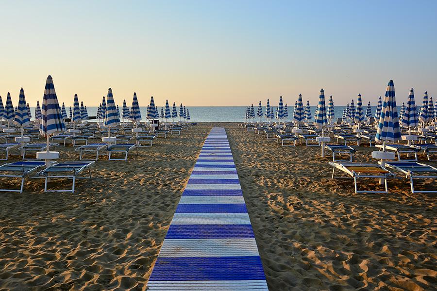 Bibione e Rimini spiagge smoke free