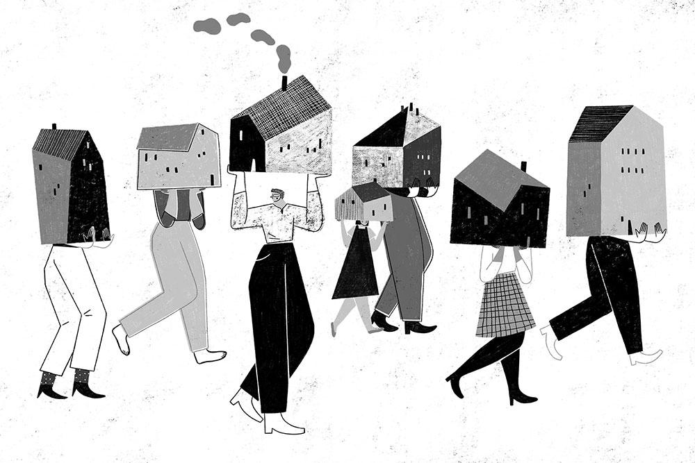 Una delle illustrazioni di Fernando Cobelo