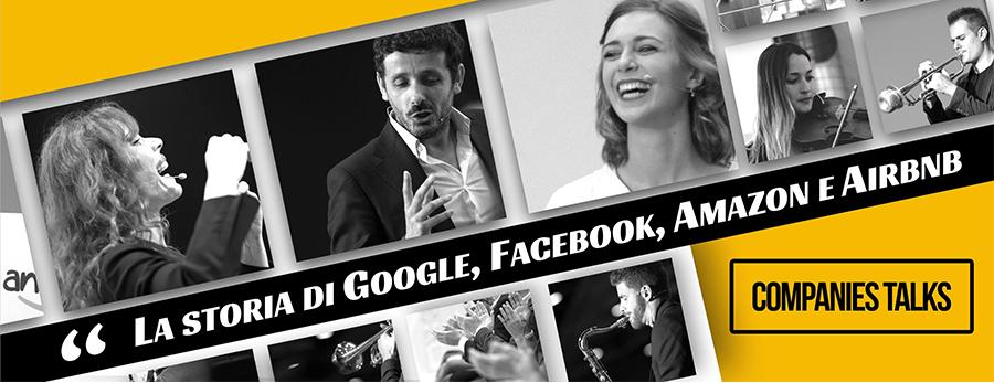 I Companies Talks spiegano come sono nate le grandi aziende di successo come Google o Facebook