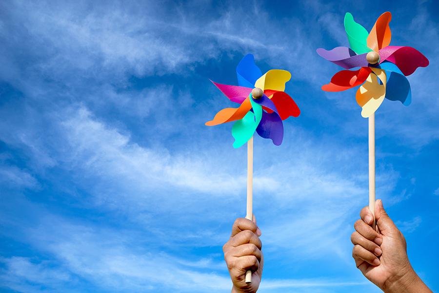 Esperimenti per la produzione di energia eolica senza le pale