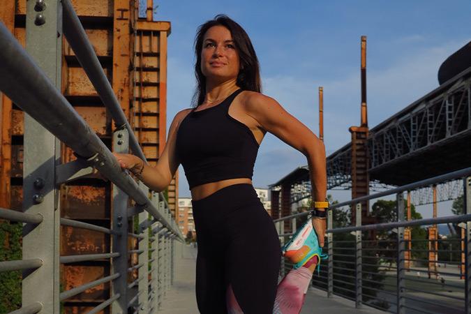 Carlotta Montanera, blogger di Running Charlotte.
