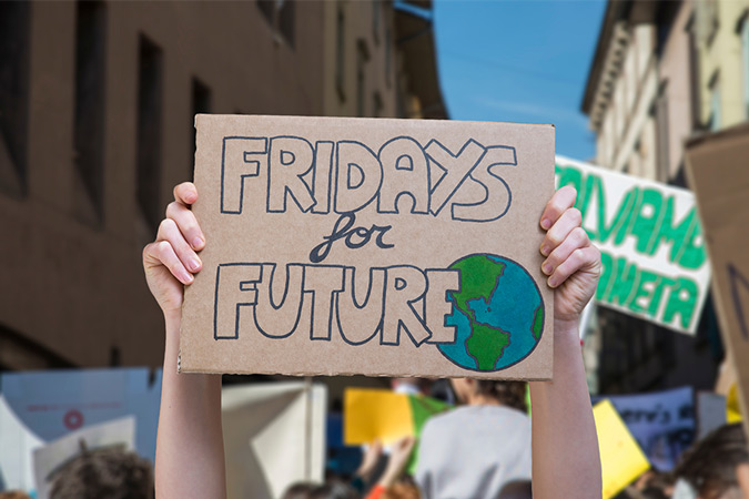 I Fridays for Future di Greta Thunberg