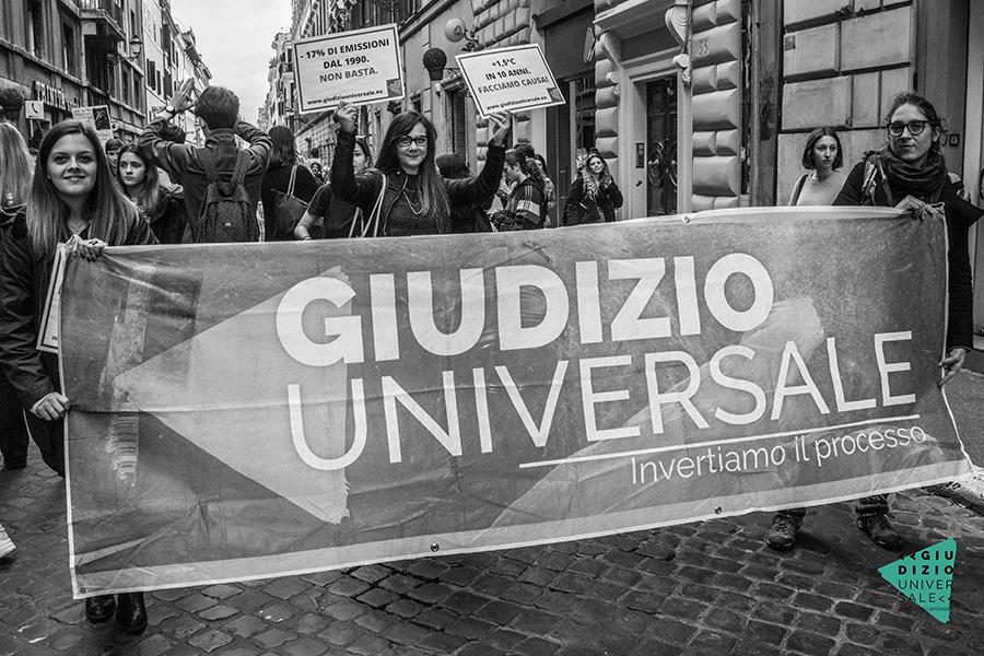Cosa si può fare per il cambiamento climatico: la campagna Giudizio Universale
