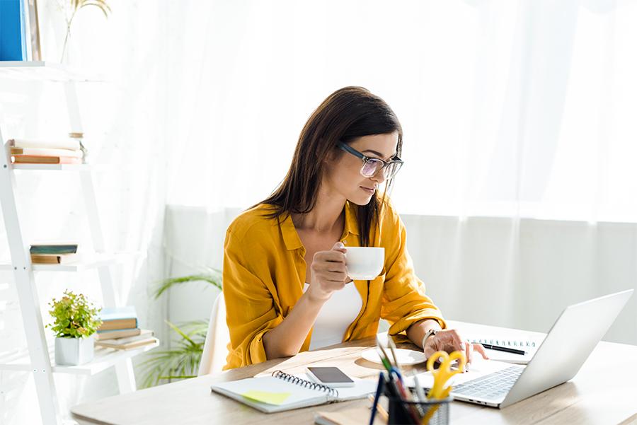 Lavorare bene da casa ed essere produttivi grazie allo smart working