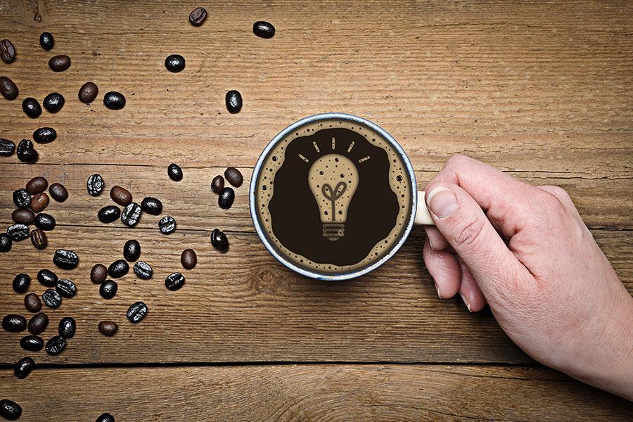 fondi di caffè e il loro uso in casa