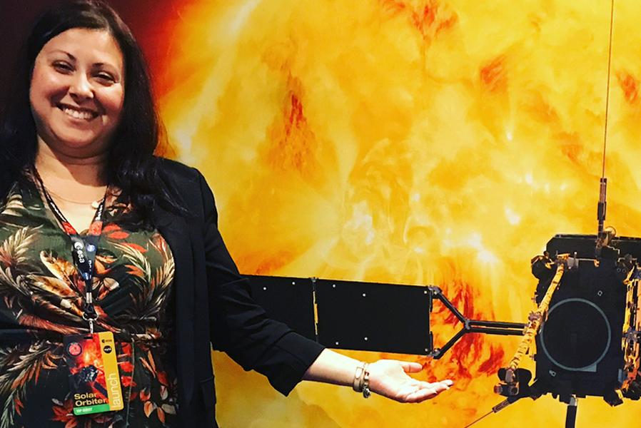 Clementina Sasso, l'astrofisica che lavora alla missione Solar Orbiter