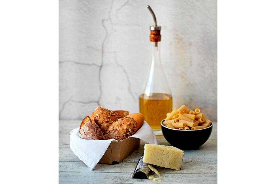 ingredienti per la ricetta della pasta ca muddica e alici
