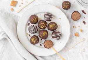 Cake Pops o lecca lecca al cioccolato pronti