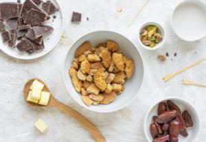 Ingredienti per la ricetta dei cake pops