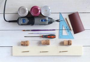 Materiali per riciclare i tappi sughero